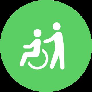 画像:移動支援(地域生活支援)